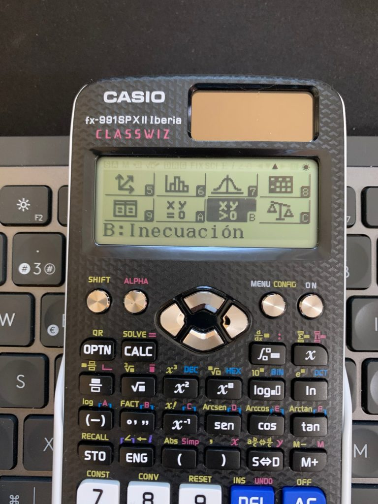Funciones y uso de ambas calculadoras científicas: Casio fx-991SP X II Iberia y Casio fx-570SP X II Iberia