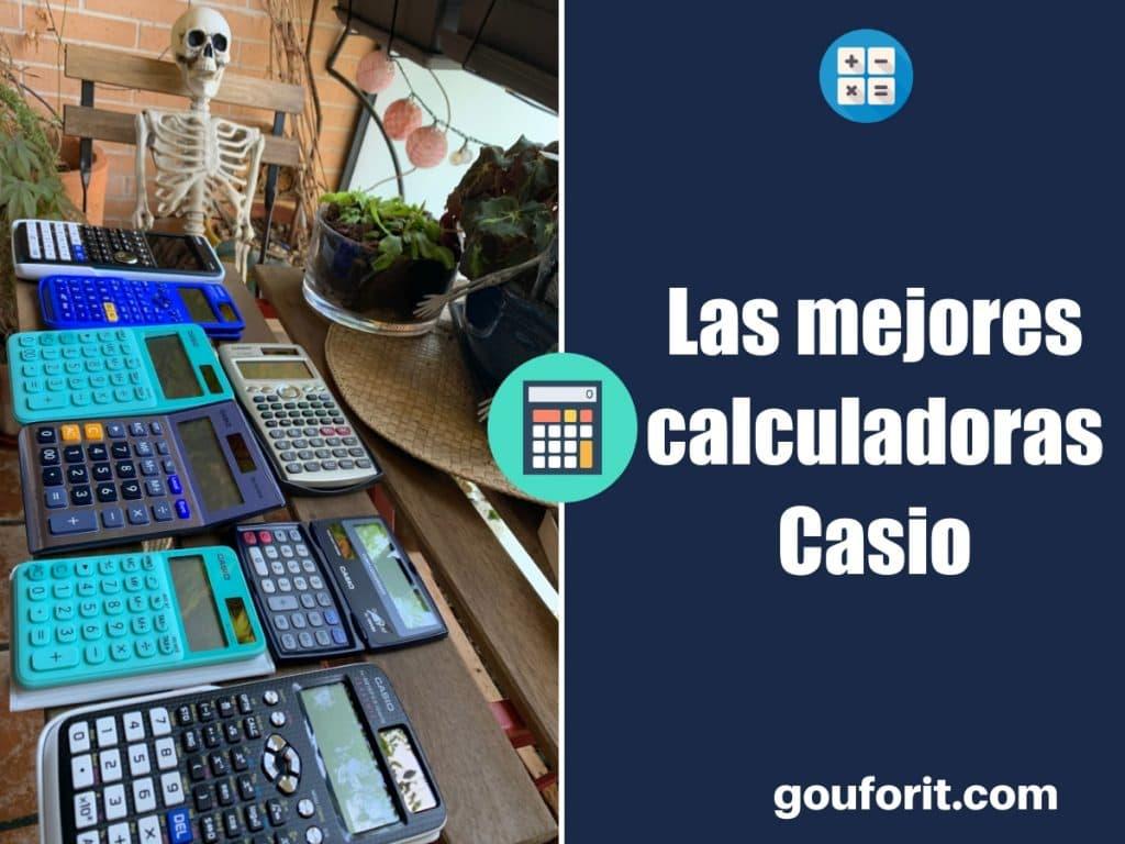 Las mejores calculadoras Casio