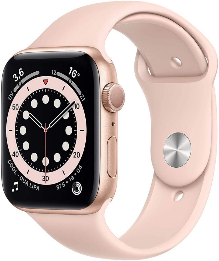 Apple Watch Series 6 (GPS, 44 mm) Caja de Aluminio en Oro