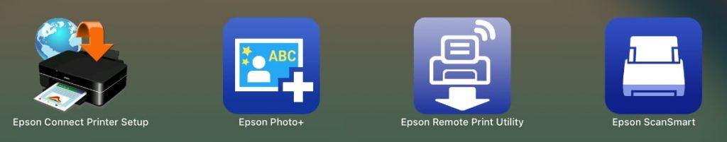 apps para macOS de la Epson EcoTank ET-2750