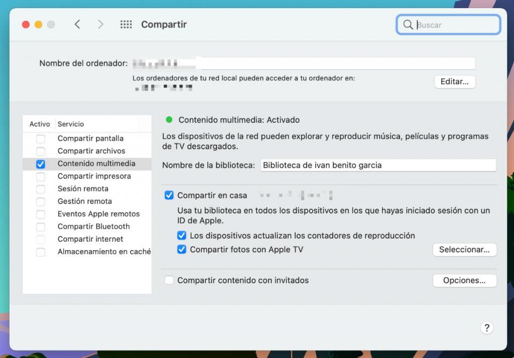 Apple TV 4K (2021): configuration con Mac