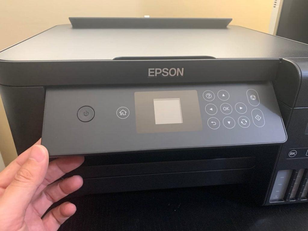 Epson EcoTank ET-2750: diseño
