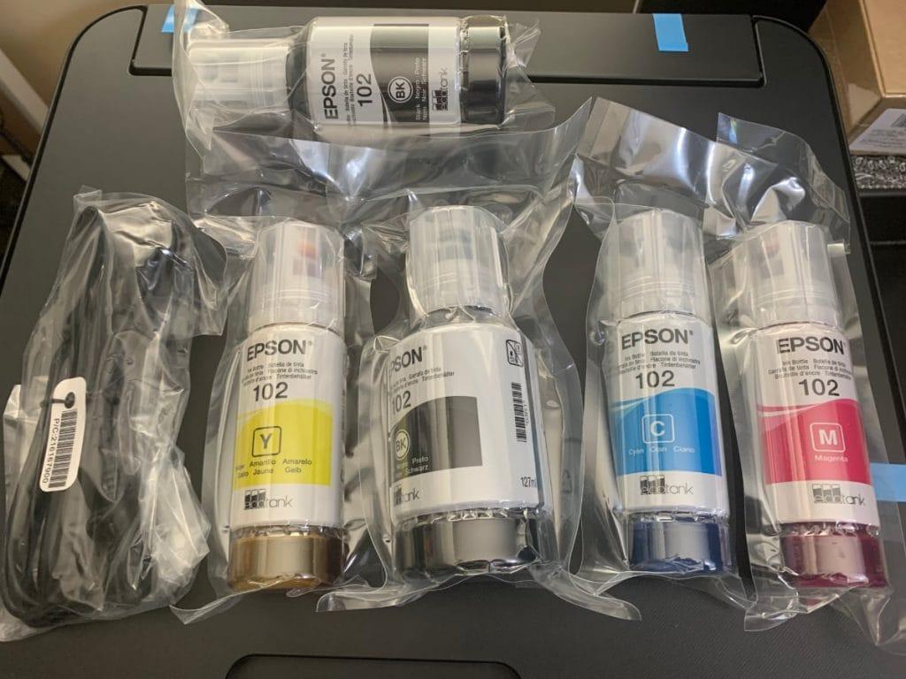 Epson EcoTank ET-2750: características