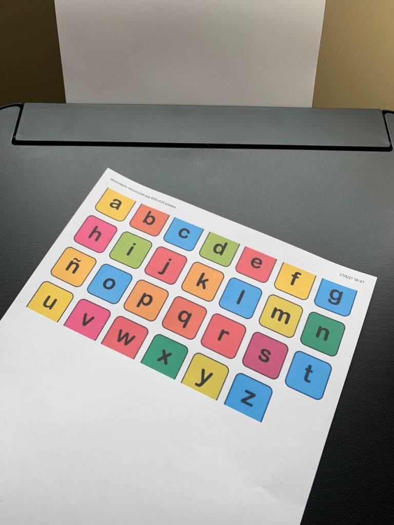 Epson EcoTank ET-2750: prueba de impresión a color
