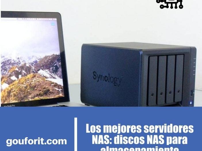 mejores servidores NAS para almacenamiento: discos NAS domésticos y para oficinas