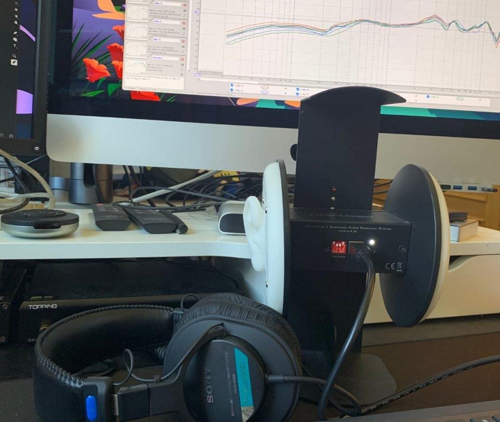 miniDSP EARS y Sony MDR-7506