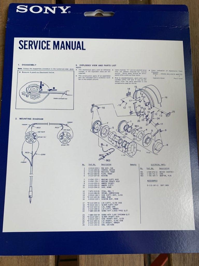 Sony MDR-7506: instrucciones