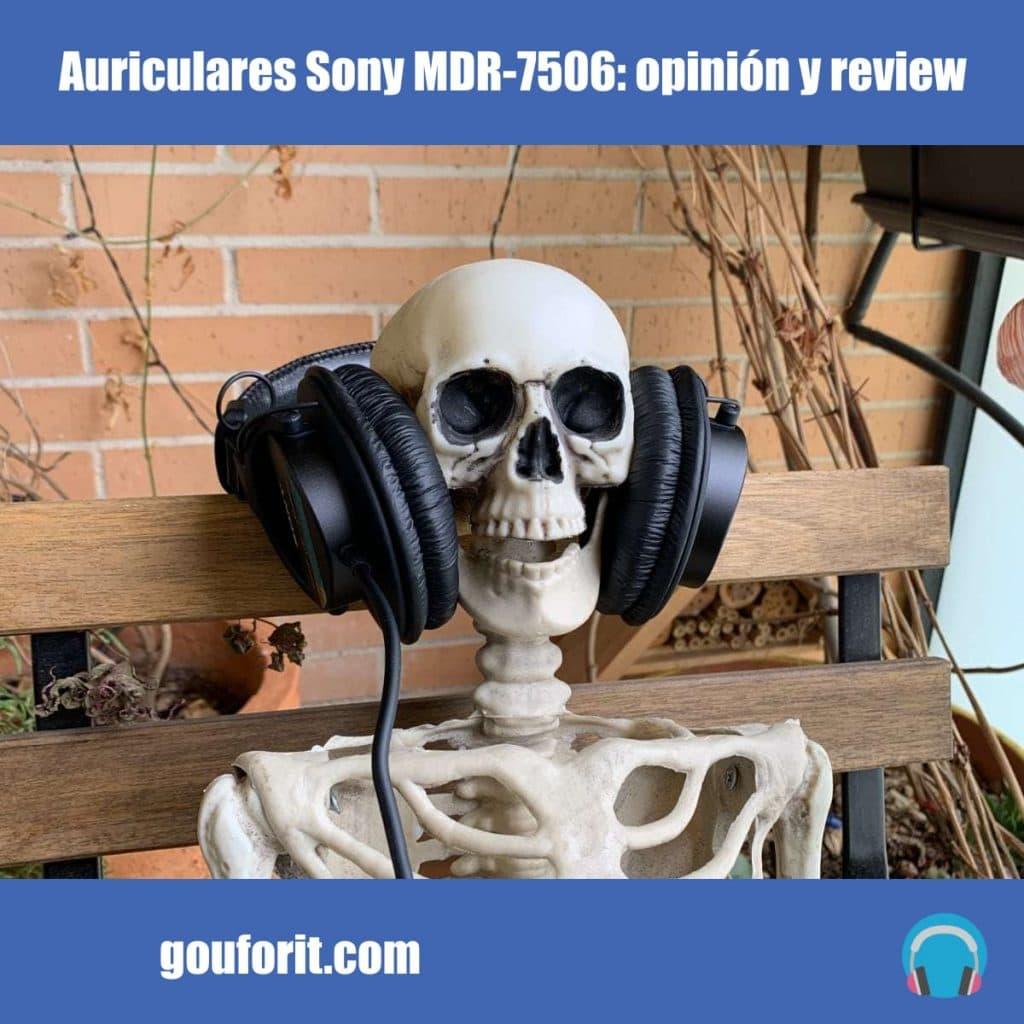 Auriculares Sony MDR-7506: opinión y review