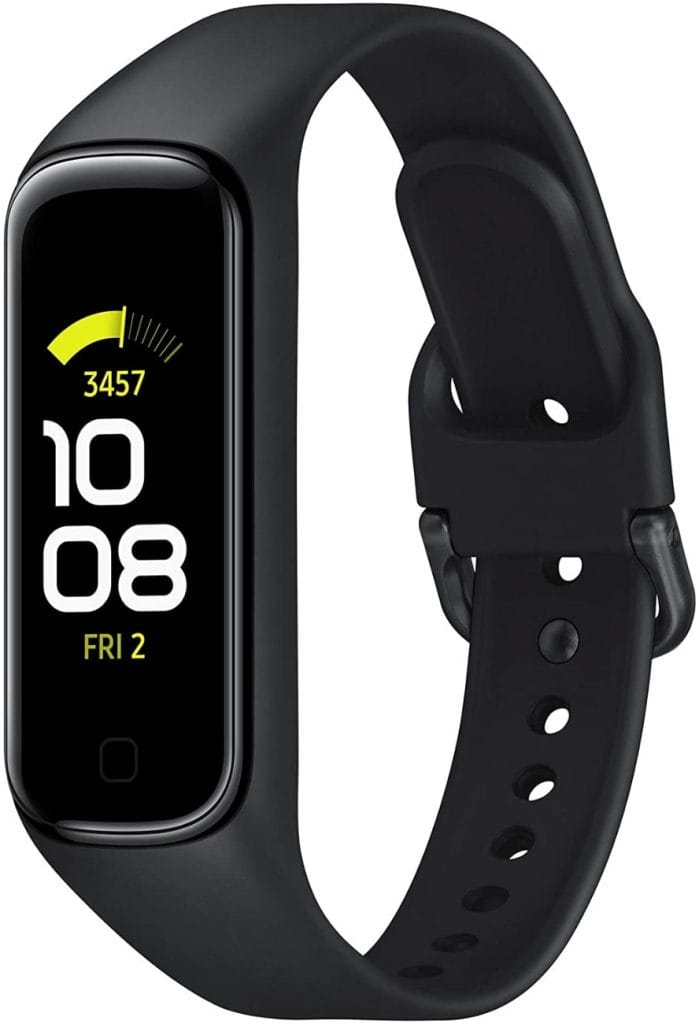 SAMSUNG Galaxy Fit2 Negro con acelerómetro, giroscopio, Monitor de frecuencia cardíaca