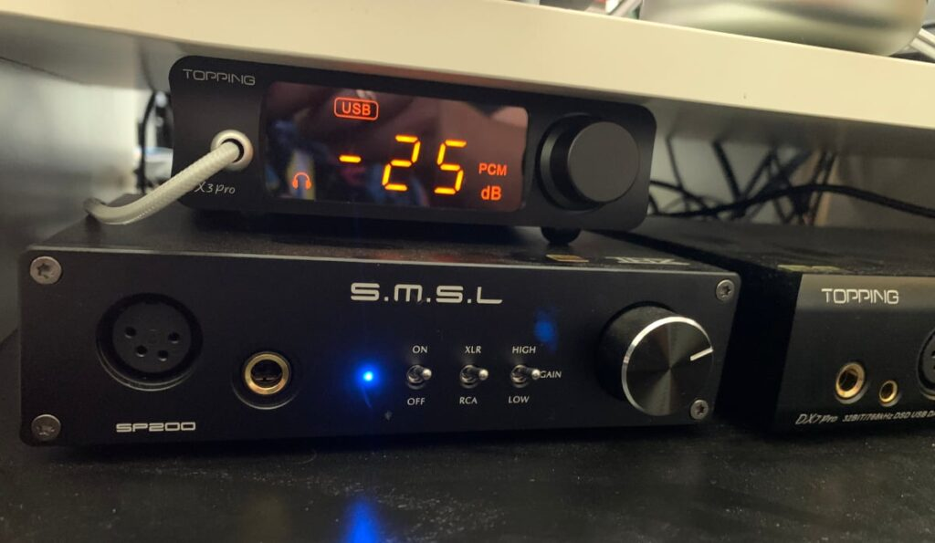 S.M.S.L SP200 THX AAA-888: características y diseño