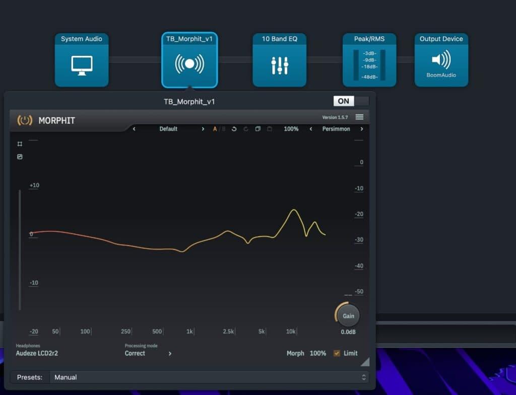 Audeze LCD-2 Classic: sonido - EQ