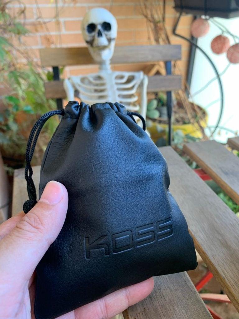 Koss Porta Pro Classic: plegables y bolsa de viaje