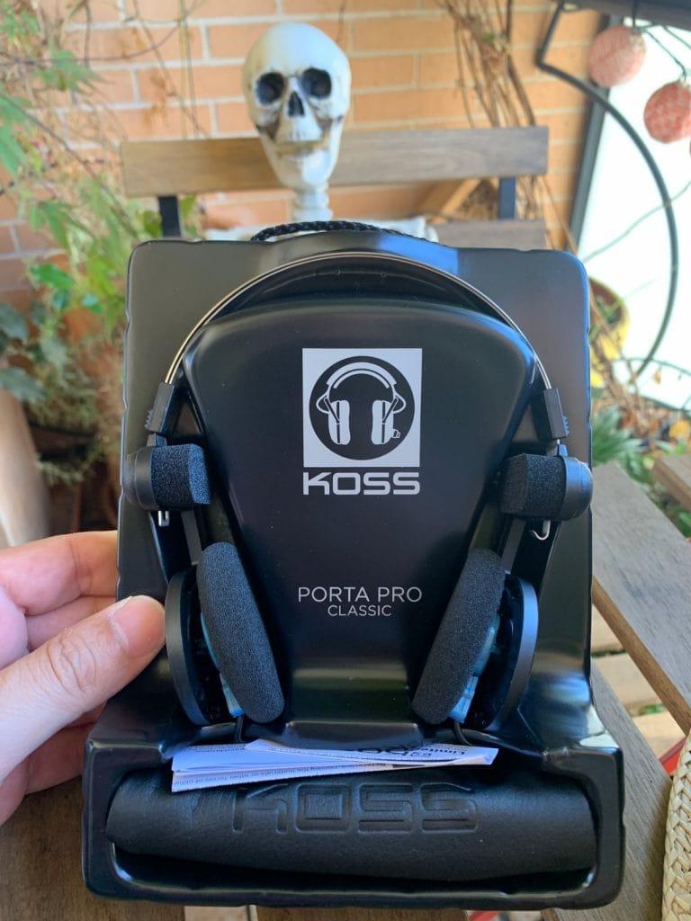 Koss Porta Pro Classic: caja