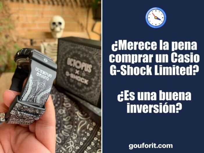 ¿Merece la pena comprar un Casio G-Shock Limited? ¿Es una buena inversión?