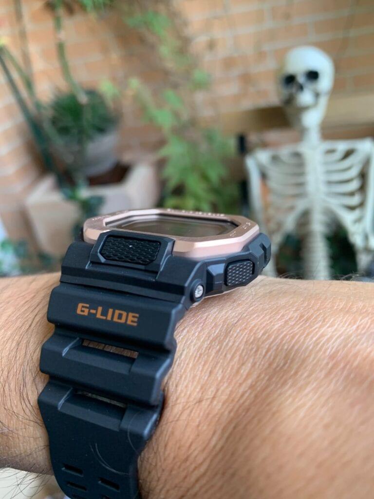 Casio G-Shock GBX-100: cómo queda en la muñeca