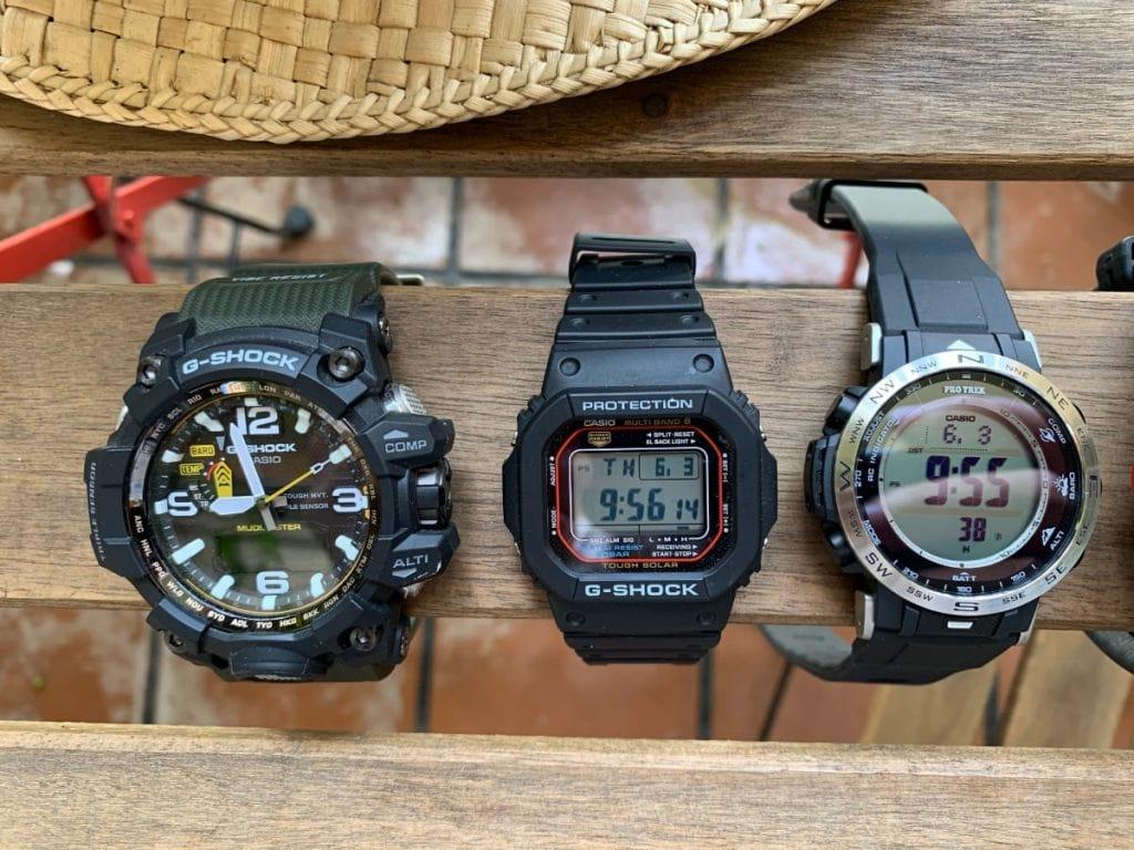 ¿Compramos un Casio G-Shock o un reloj Casio Pro Trek?