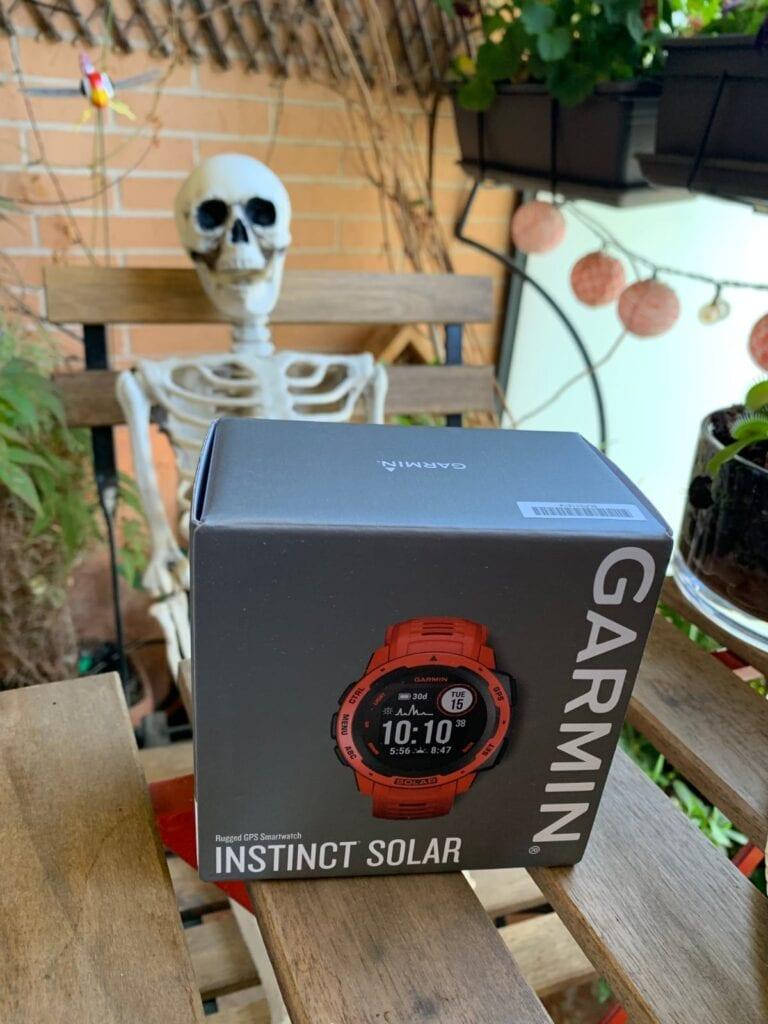 Garmin Instinct Solar: puesta en marcha, aplicaciones