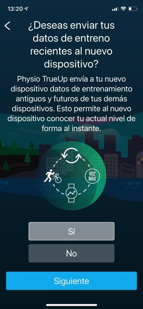 Garmin Instinct Solar: Garmin Connect aplicacion