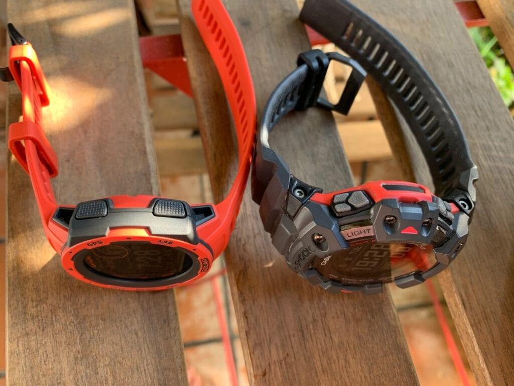 Garmin Instinct Solar vs Casio G-Shock GBD-H1000