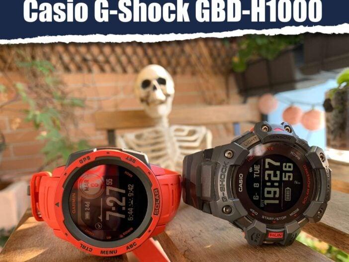 Garmin Instinct Solar vs Casio G-Shock GBD-H1000: comparativa de relojes deportivos