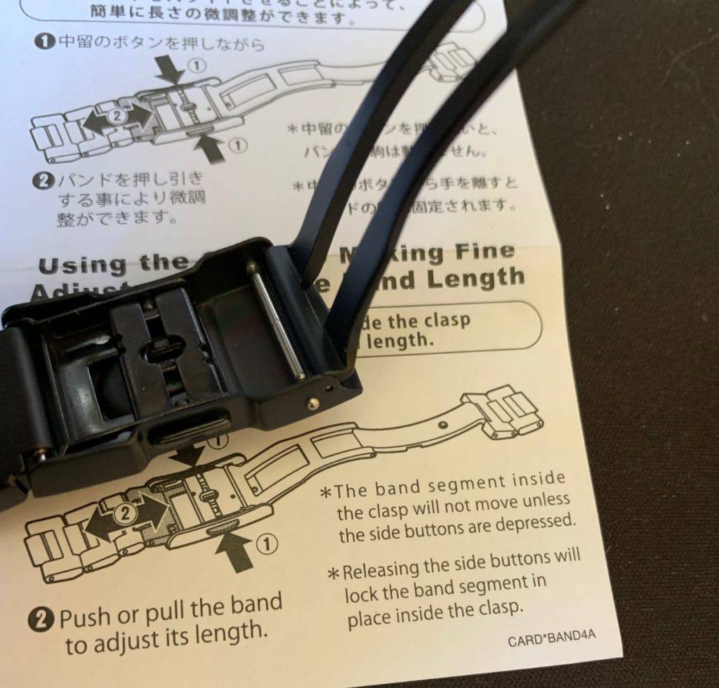 Casio Pro Trek PRW-50FC-1ER: pulsera