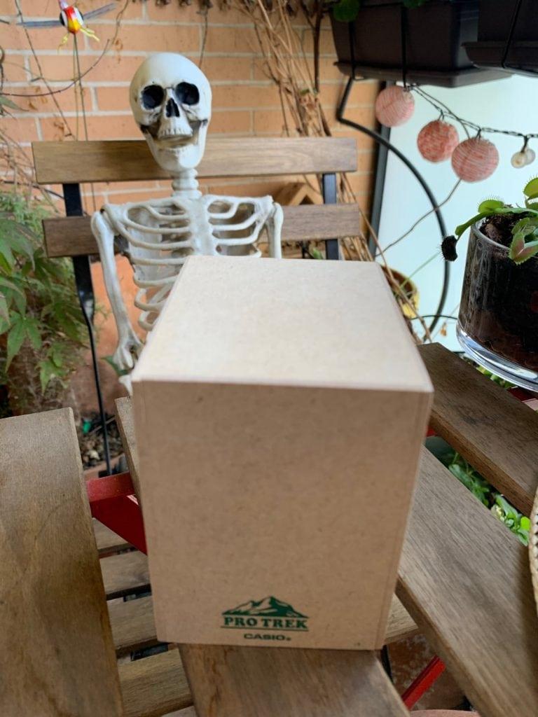 Casio Pro Trek PRW-50FC-1ER: caja