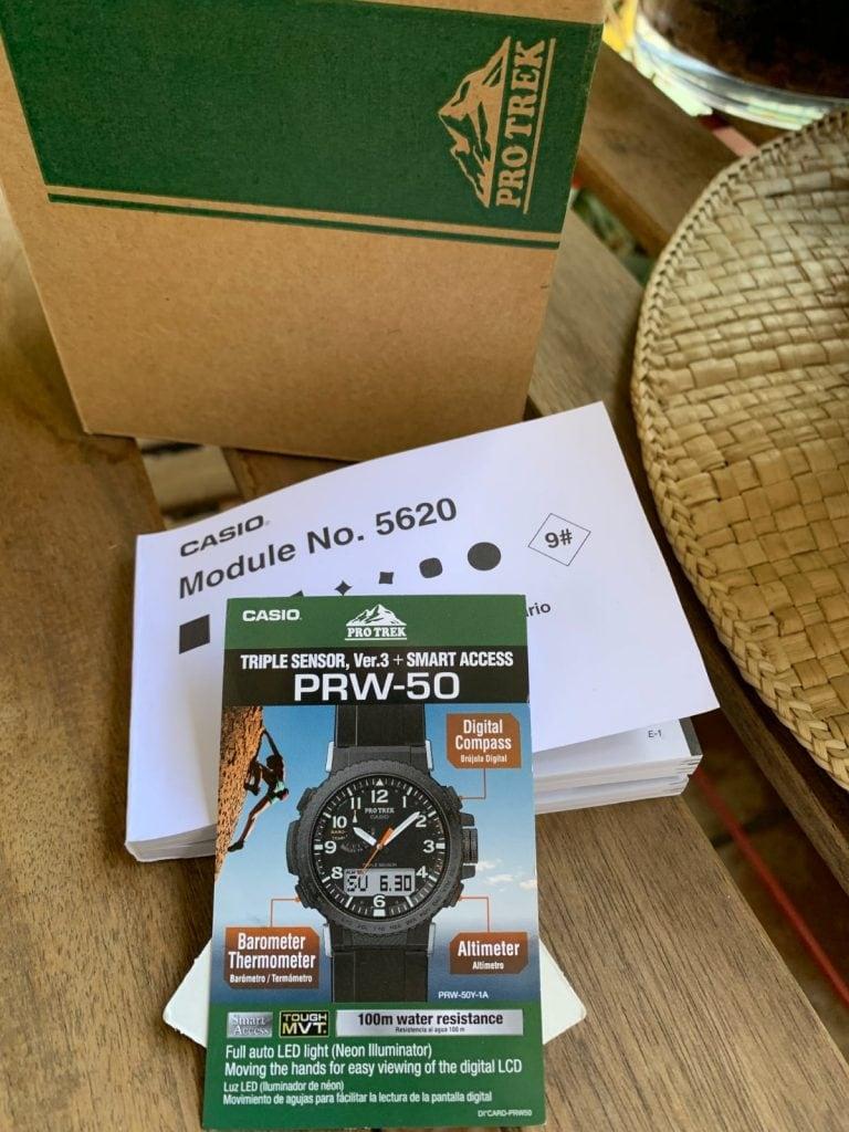 Casio Pro Trek PRW-50