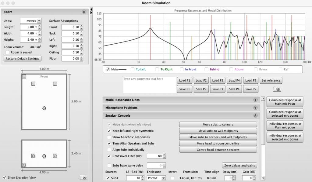 Como medir sonido altavoces en una habitación: software REW