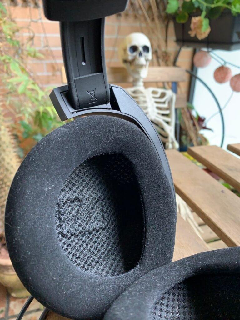 Sennheiser HD800S: almohadillas