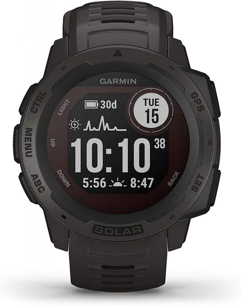 Garmin Instinct Solar- Reloj resistente con GPS