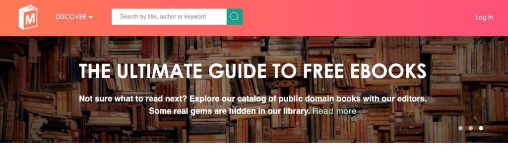 El mejor sitio para descargar ebooks gratis en ingles para tu Kindle: ManyBooks