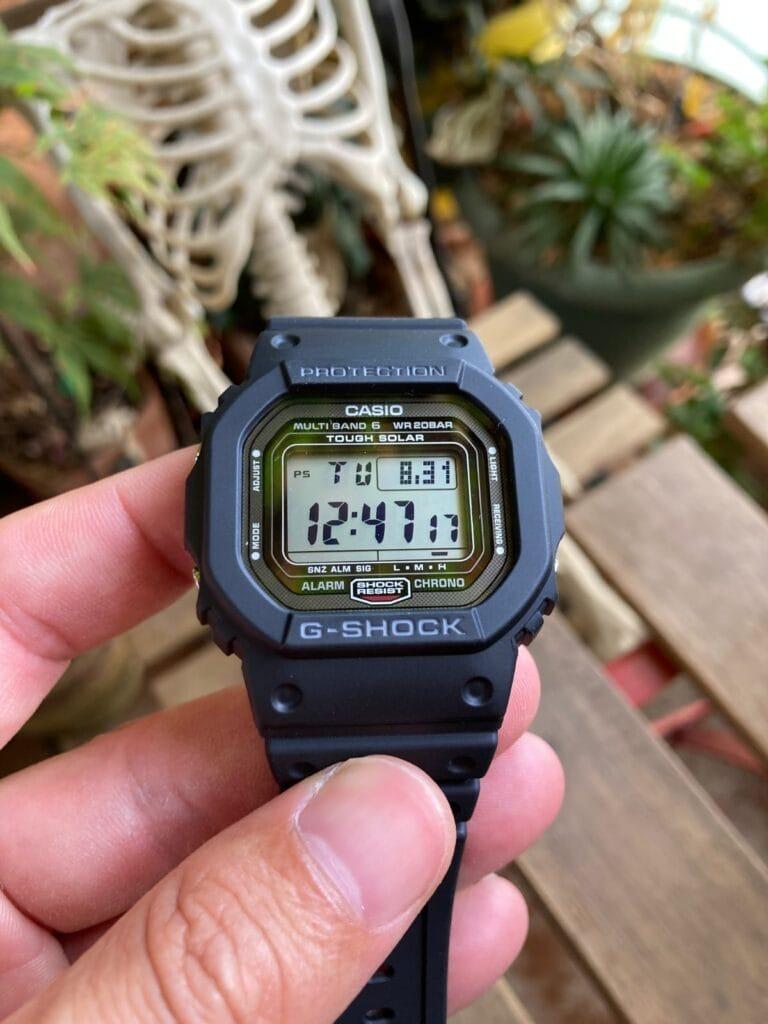 Casio G-Shock GW-5000U-1ER - Opinión y review: la nueva versión de un reloj clásico
