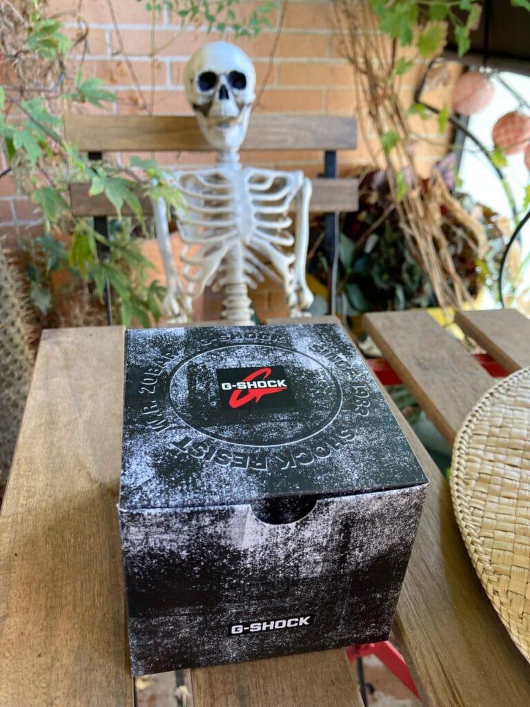 Casio G-Shock GW-5000U-1ER: caja