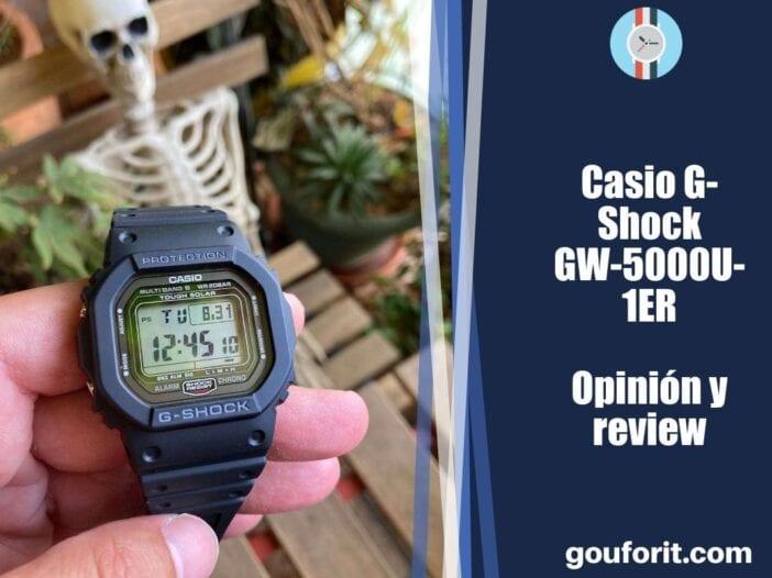 Casio G-Shock GW-5000U-1ER - Opinión y review