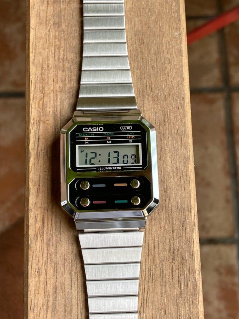 Características del reloj Casio A100WE-1AEF