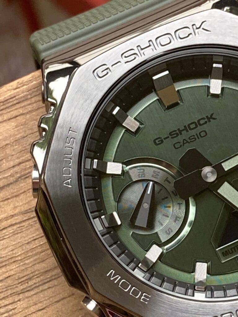 Casio G-Shock GM-2100B-3AER - Diseño y fabricación