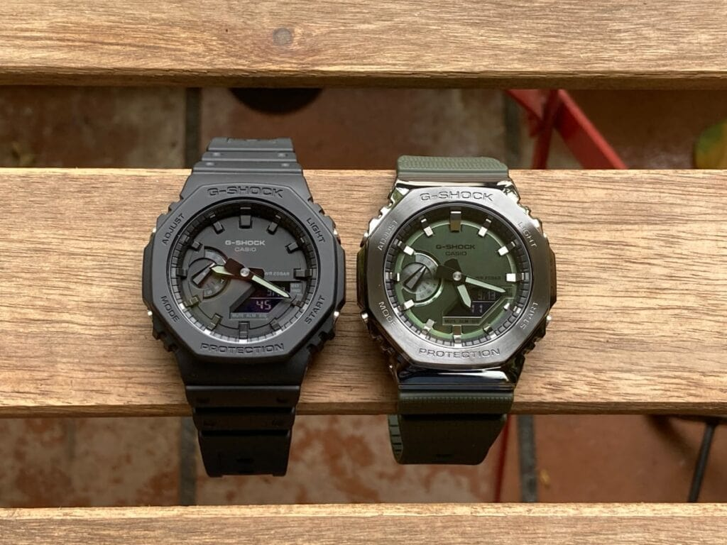 Casio G-Shock GA-2100 vs GM-2100