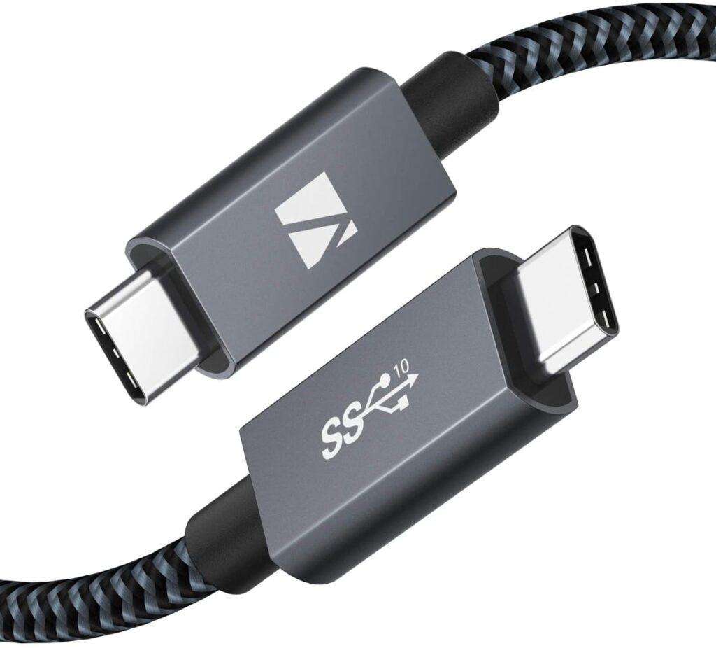 IVANKY: Cable USB C a USB C 3.2 Gen2x2de 1 metro